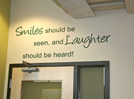 smiles and laughter